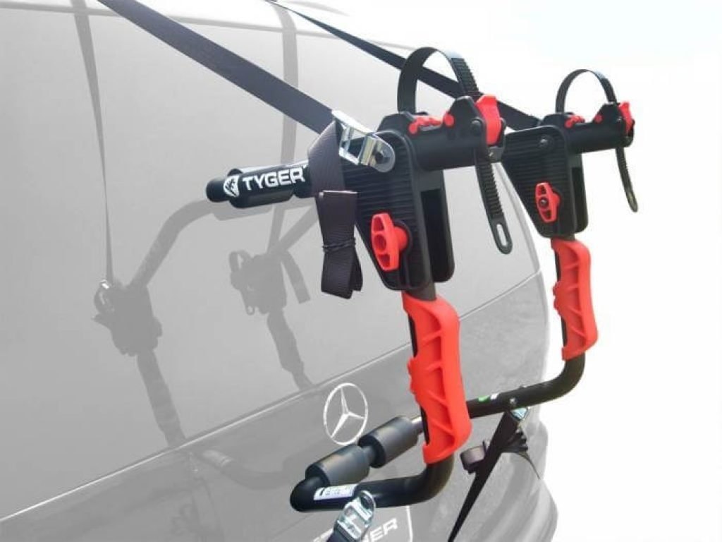 TG-RK1B204B Deluxe Black 1-Bike Trunk Mount