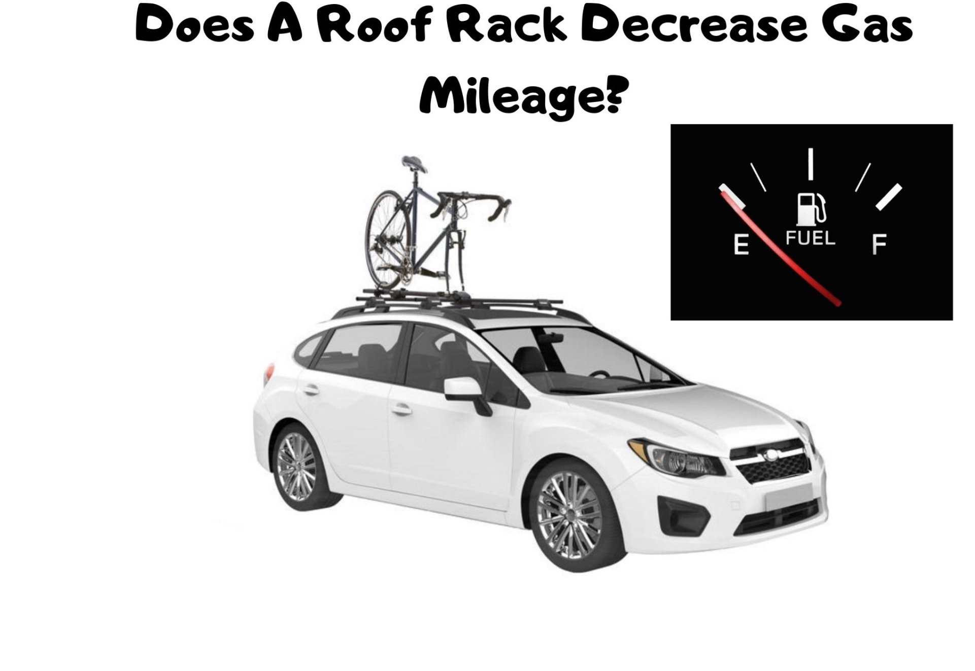 Does a roof rack affect gas mileage