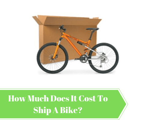How Much Does It Cost To Ship A Bike