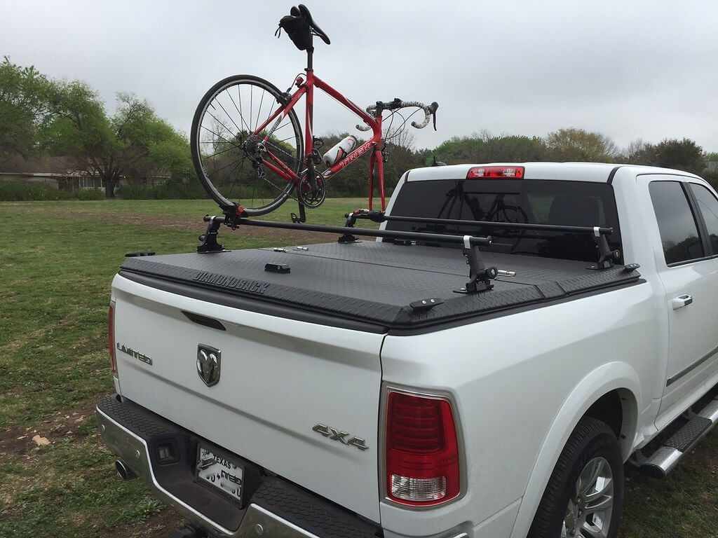above truck bed bike rack