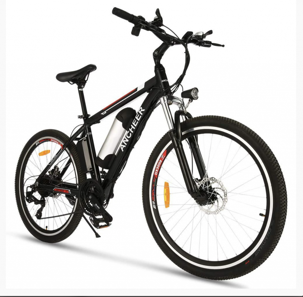 ANCHEER 2019 Upgraded Electric Mountain Bike