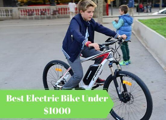 5+ Best Electric Bike Under 1000: Ultimate Buyers Guide 2020
