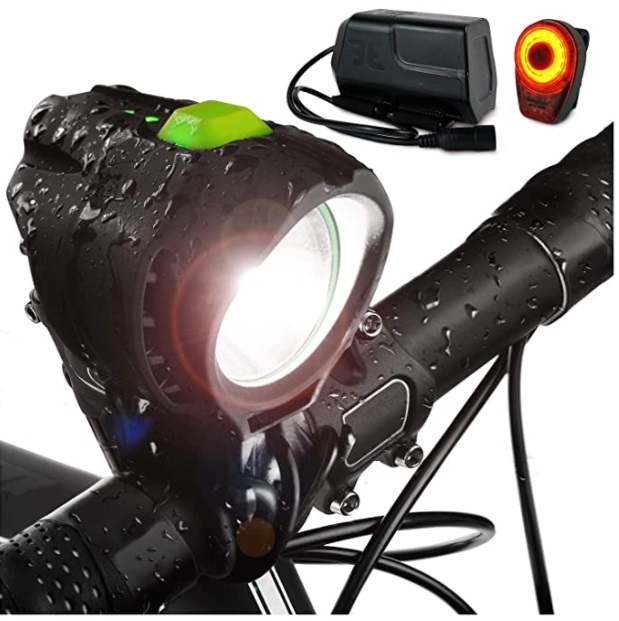 Bright Eyes 1800 Lumen Bicycle Light Set