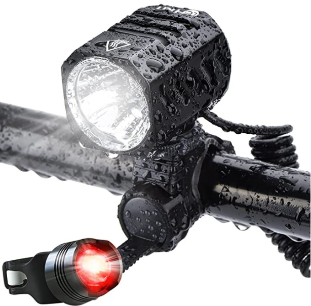 Super Bright Te-Rich 1200 Lumens Waterproof Bike Headlight