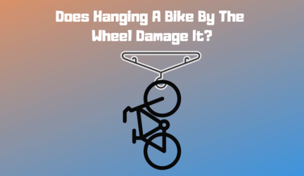 Does Hanging A Bike By The Wheel Damage It?